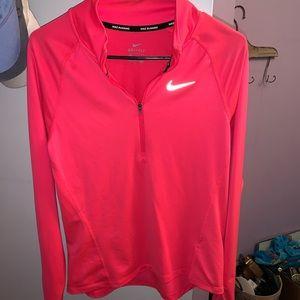Nike running Half zip